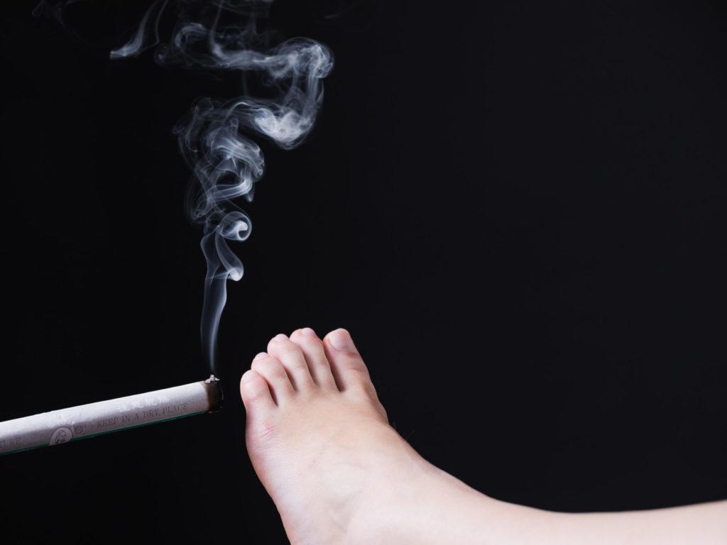 La thérapie par moxibustion